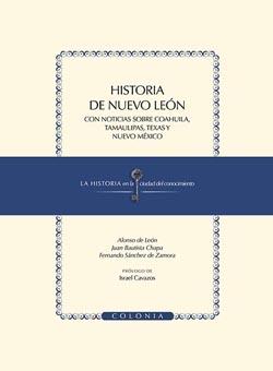 Historia de Nuevo León, con...
