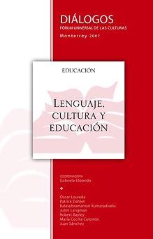 Lenguaje, cultura y educación
